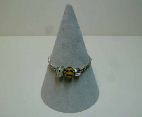 Jewellery Display Bracelet / Bangle Cone (grey)
