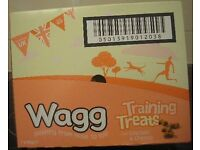 Box of 7pks of Wagg Dog Training Treats with Chicken & Cheese