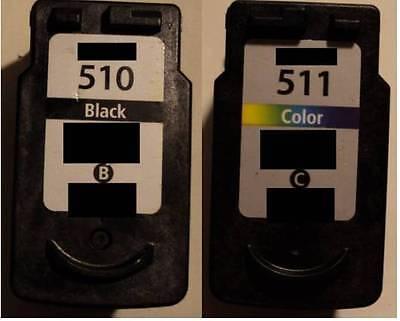 2 Druckerpatronen XXL für Canon PG-510 & CL-511 Pixma MP280 MP230 MP240 MP250 online kaufen
