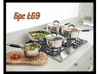 5 Piece tower pan set