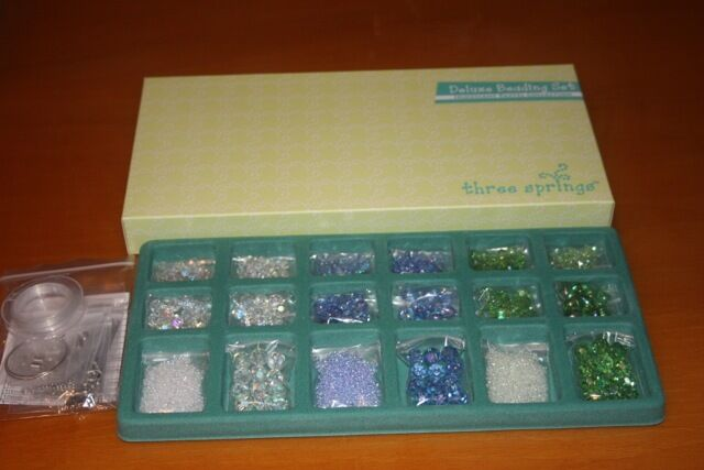 Closeout QVC Professional Quality Beading Kits (3) Replenishment BEADS ONLY-SALE