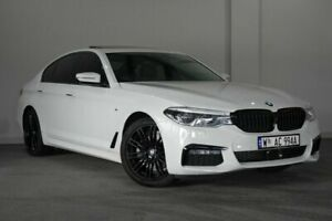 2018 BMW 520d G30 M Sport Steptronic White 8 Speed Sports Automatic Sedan Bayswater Bayswater Area Preview