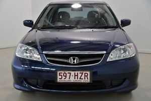 2004 Honda Civic 7th Gen MY2004 GLi Blue 4 Speed Automatic Sedan Mansfield Brisbane South East Preview