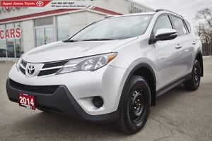 2014 Toyota RAV4 LE with Upgrade Pkg.  Extra features!