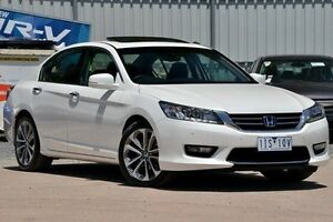 2016 Honda Accord 9th Gen MY15 V6L White 6 Speed Sports Automatic Sedan Ferntree Gully Knox Area Preview