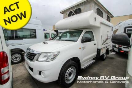 U3887 Talvor Toyota Hilux Adventure Camper 4X4 Built Tough Penrith Penrith Area Preview