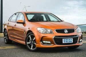 2017 Holden Commodore VF II MY17 SV6 Orange 6 Speed Sports Automatic Sedan Christies Beach Morphett Vale Area Preview