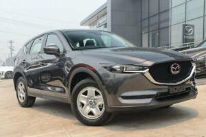 2019 Mazda CX-5 KF4WLA Maxx SKYACTIV-Drive i-ACTIV AWD Machine Grey 6 Speed Sports Automatic Wagon