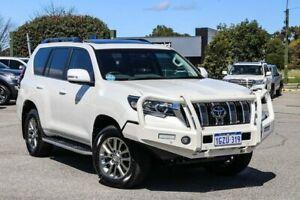 2019 Toyota Landcruiser Prado GDJ150R Kakadu White 6 Speed Sports Automatic Wagon Maddington Gosnells Area Preview