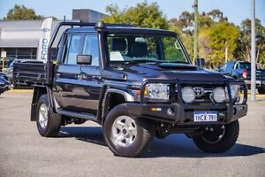2020 Toyota Landcruiser VDJ79R GXL Double Cab Grey 5 Speed Manual Cab Chassis Maddington Gosnells Area Preview