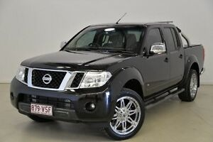 2012 Nissan Navara D40 S5 MY12 ST-X Black 7 Speed Sports Automatic Utility Mansfield Brisbane South East Preview