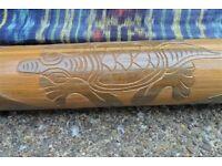 Decorated Didgeridoo