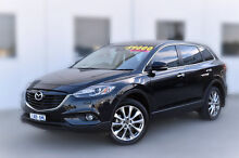 2013 Mazda CX-9 TB10A5 MY14 Grand Touring Activematic AWD Black 6 Speed Sports Automatic Wagon Pakenham Cardinia Area Preview
