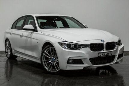2014 BMW 328I F30 MY0813 M Sport White 8 Speed Sports Automatic Sedan