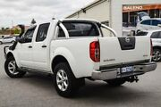 2011 Nissan Navara D40 Series 4 ST-X (4x4) White 6 Speed Manual Dual Cab Pick-up Cannington Canning Area Preview