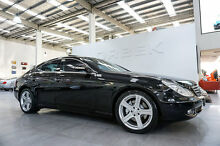 2007 Mercedes-Benz CLS 219 350 Obsidian Black 7 Speed Automatic G-Tronic Coupe Port Melbourne Port Phillip Preview