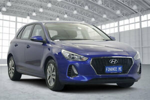 2019 Hyundai i30 PD2 MY19 Active Intense Blue 6 Speed Sports Automatic Hatchback Victoria Park Victoria Park Area Preview
