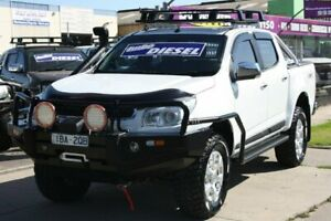 2014 Holden Colorado RG MY14 LTZ Crew Cab White 6 Speed Sports Automatic Utility Altona North Hobsons Bay Area Preview