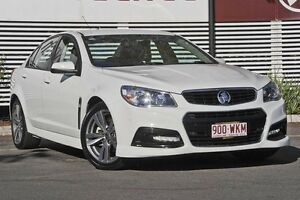 2015 Holden Commodore VF MY15 SV6 White 6 Speed Sports Automatic Sedan Mount Gravatt Brisbane South East Preview