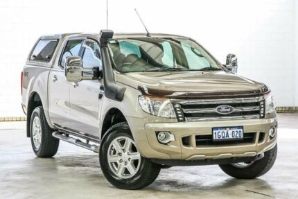 2013 Ford Ranger PX XLT 3.2 (4x4) Bronze 6 Speed Automatic Dual Cab Utility Cannington Canning Area Preview