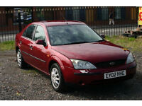 Ford Mondeo 2.0 (Cheap car with MOT)