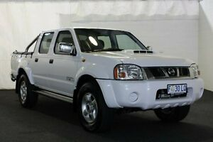 2013 Nissan Navara D22 Series 5 ST-R (4x4) White 5 Speed Manual Dual Cab Pick-up Derwent Park Glenorchy Area Preview