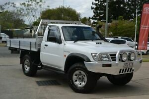 2005 Nissan Patrol DX White 5 Speed Manual Utility Beaudesert Ipswich South Preview