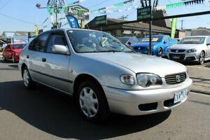 2000 Toyota Corolla AE112R Ascent Seca Silver 4 Speed Automatic Liftback