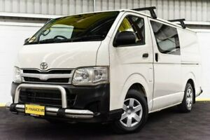 2011 Toyota HiAce KDH201R MY11 LWB White 5 Speed Manual Van Canning Vale Canning Area Preview