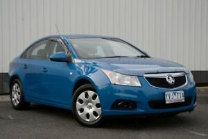 2012 Holden Cruze JH Series II MY12 CD Blue 6 Speed Sports Automatic Sedan Oakleigh Monash Area Preview