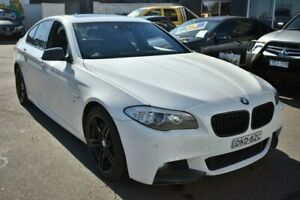 2011 BMW 535i F10 MY11 Steptronic White 8 Speed Sports Automatic Sedan Liverpool Liverpool Area Preview