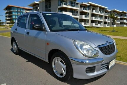 2003 Daihatsu Sirion M100RS Silver 4 Speed Automatic Hatchback Somerton Park Holdfast Bay Preview
