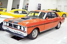 1970 Ford Falcon XY GT Vermillion Red 4 Speed Manual Sedan Carss Park Kogarah Area Preview