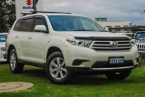 2012 Toyota Kluger GSU40R MY12 KX-R 2WD White 5 Speed Sports Automatic Wagon Wangara Wanneroo Area Preview
