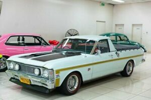 1970 Ford Falcon XW Diamond White 3 Speed Manual Utility Carss Park Kogarah Area Preview