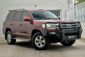 2017 Toyota Landcruiser VDJ200R GXL Red 6 Speed Sports Automatic Wagon Berwick Casey Area Preview