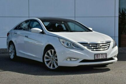 2011 Hyundai i45 YF MY11 Premium White 6 Speed Sports Automatic Sedan Tweed Heads South Tweed Heads Area Preview
