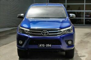 2016 Toyota Hilux GUN126R SR5 Double Cab Blue 6 Speed Sports Automatic Utility Pakenham Cardinia Area Preview