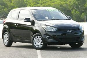2012 Hyundai i20 PB MY12 Active Black 5 Speed Manual Hatchback Bungalow Cairns City Preview