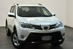 2014 Toyota RAV4 ASA44R MY14 Upgrade GXL (4x4) Crystal Pearl 6 Speed Automatic Wagon North Hobart Hobart City Preview