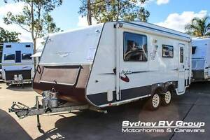 CU992 Avan Liam HT Dual Axle With Queen Island Bed. BE QUICK Call Penrith Penrith Area Preview