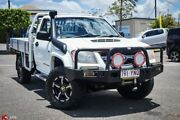 2010 Holden Colorado RC MY10.5 DX White 5 Speed Manual Cab Chassis Archerfield Brisbane South West Preview
