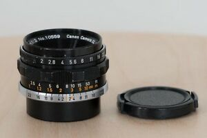 Canon 35mm F2 for Leica M