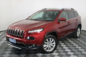 2015 Jeep Cherokee Red Sports Automatic Wagon Hoppers Crossing Wyndham Area Preview