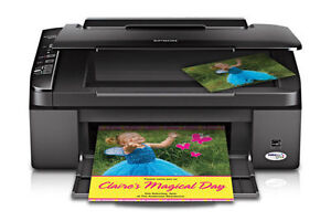 *** Epson Stylus NX115 All-in-One Printer, Scanner & Copier ***