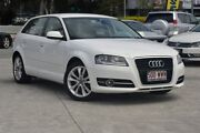 2011 Audi A3 8P MY11 TFSI Sportback S tronic Ambition Ibis White 7 Speed Southport Gold Coast City Preview
