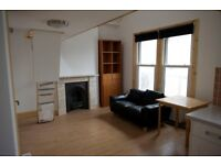 Brand new split level furnished studio for single person with all bills included ex C.Tax