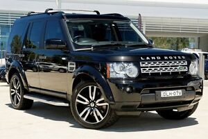 2012 Land Rover Discovery 4 Series 4 MY12 SDV6 CommandShift HSE Black 6 Speed Sports Automatic Wagon Baulkham Hills The Hills District Preview