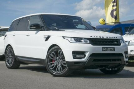 2017 Land Rover Range Rover Sport L494 17MY SDV6 CommandShift HSE Dynamic Fuji White 8 Speed Pearce Woden Valley Preview
