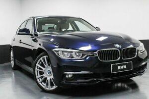 2016 BMW 330i F30 LCI Luxury Line Blue 8 Speed Sports Automatic Sedan Hamilton East Newcastle Area Preview